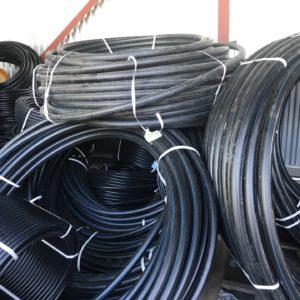 Труба ПЭ 100 PN 12,5 черная SDR 13,6
