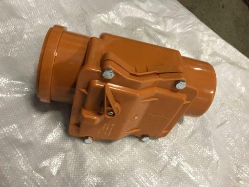 Клапан обратный (рыж.) для ПП Ду 110