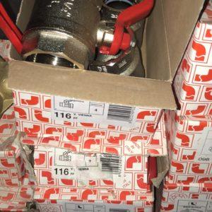 Кран латунный шаровый Itap VIENNA 116 ВВ рычаг