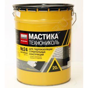 Мастика гидроизоляционная  №24 Технониколь (МГТН)