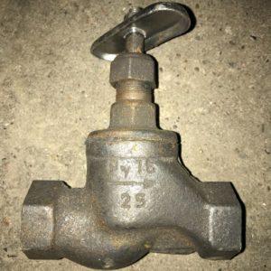Вентиль (клапан) запорный чугунный 15кч18п