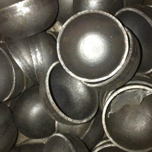 Заглушка стальная эллиптическая