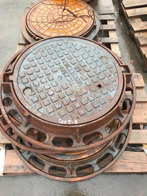 Люк телефонной канализации тип Т 86кг (ГТС.1-59)