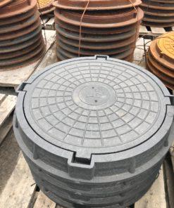 Люк полимернопесчаный тип С (нагрузка  12,5 тонн)