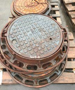 Люк канализационный тип Т (89кг)