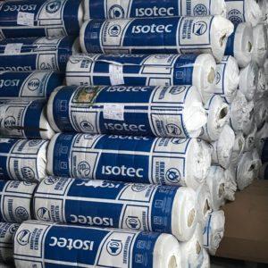 Маты  ISOTEC МП(МС)-100  на металлической  сетке с одной стороны по ГОСТ 21880-2011